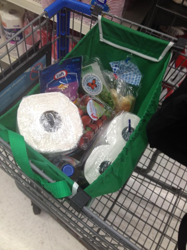 Grabbag cart open